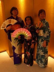 Kathrin, Dana en Miki
